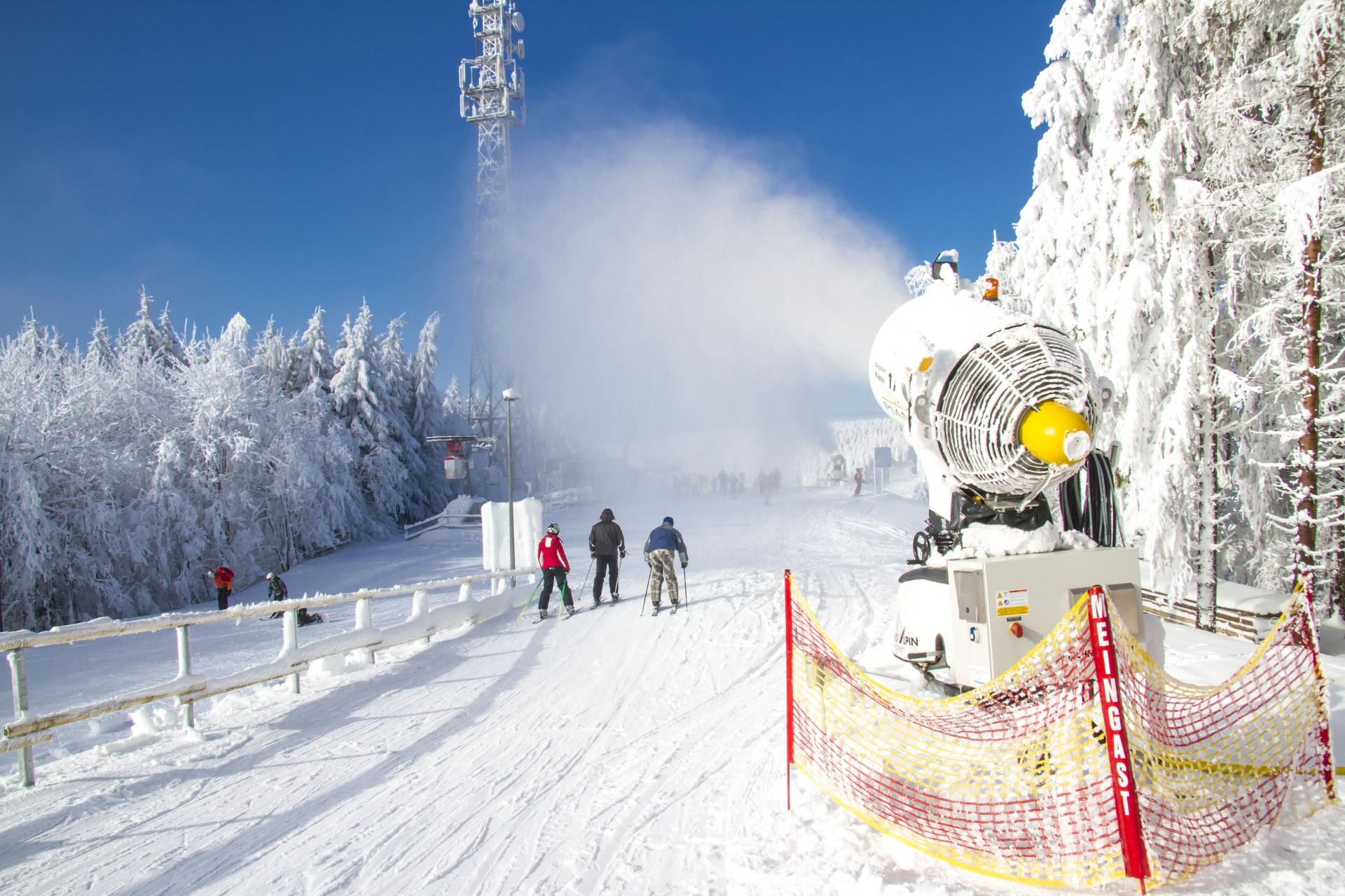 Skigebiete Bereiten Sich Auf Den Winter Vor Und Bauen Neue