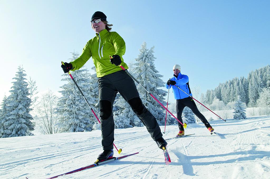 Катание на лыжах при остеохондрозе